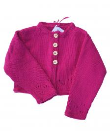 Pink girls cardigan