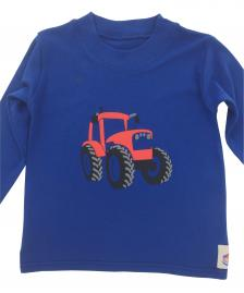 Long Sleeved Red Tractor Cotton Jersey T-Shirt
