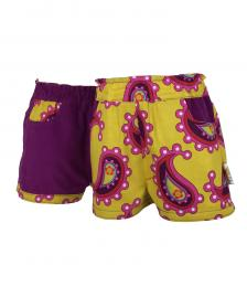 Girls winter cord shorts