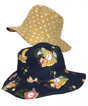 Girls Navy summer hat