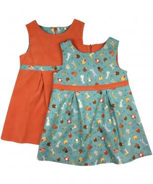 Fun animal dress for girls