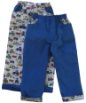 kids blue cord trousers