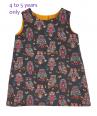 Girls corduroy owl dress