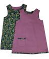Girls purple corduroy dress